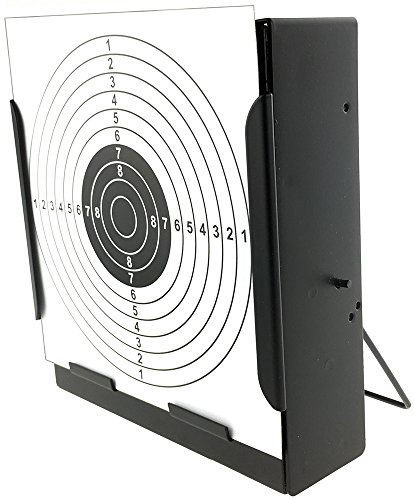 SportPro Metal Box BB Catcher Target with 20 Paper Targets for AEG GBB Airsoft – - Airsoft Box Black Gun