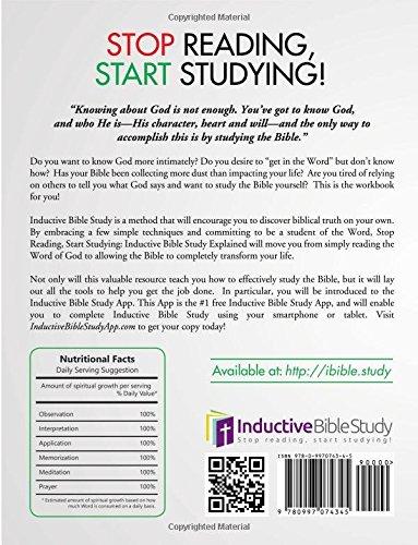 Stop Reading Start Studying Workbook - Leader Guide