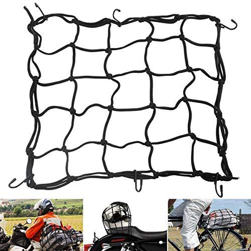 Yuniroom Motorcycle Cargo Net 1pc Black 15