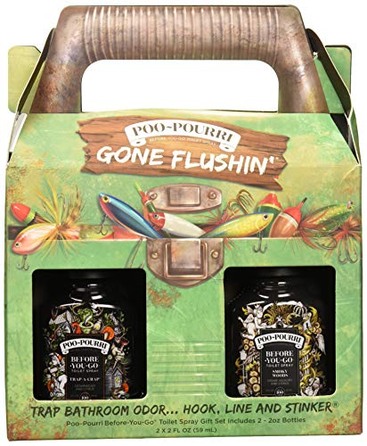(Poo-Pourri Gone Flushin Before You Go Toilet Spray Gift Set in Tackle Box)