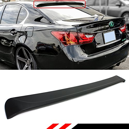 (Cuztom Tuning Fits for 2013-2016 Lexus GS350 GS450H GS200T GSF F Sport Style Rear Roof Window Spoiler Wing )