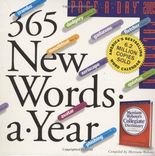 365 New Words-A-Year Page-A-Day Calendar 2009