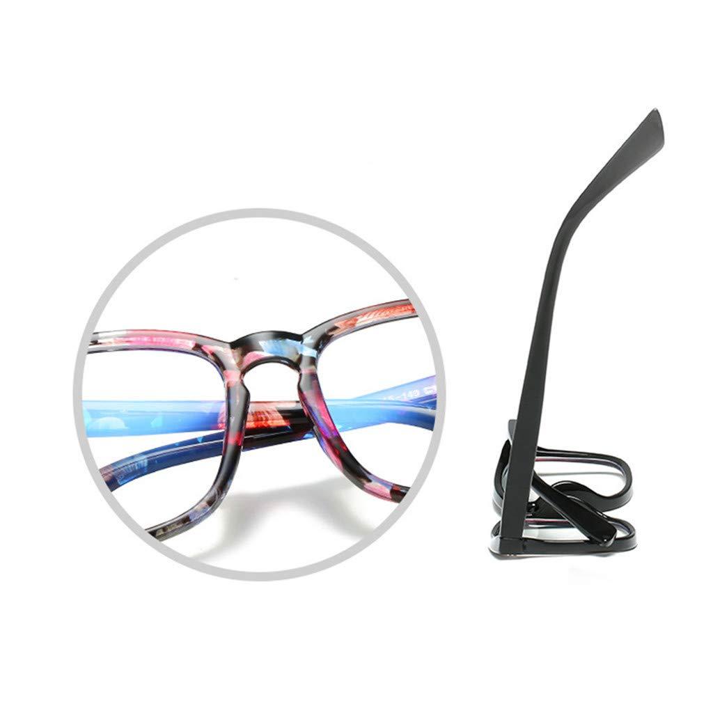 Fiaya Anti Blue Ray Glasses Computer Glasses Blue Light Blocking Glasses Square Nerd Eyeglasses Frame (Color G) by Fiaya (Image #2)