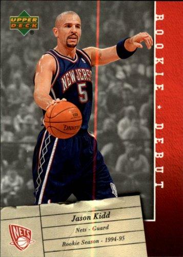 2006 Upper Deck Rookie Debut Basketball Rookie Card (2005-06) #58 Jason Kidd Near Mint/Mint