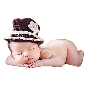 Amazon.com: Accesorios para fotografía de bebé, sombreros de ...