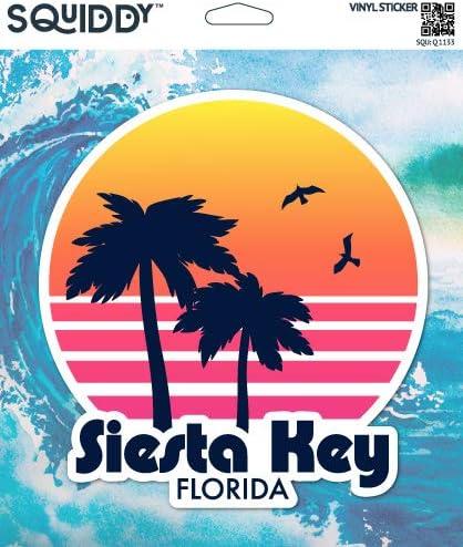 Siesta Key Vinyl Die Cut Decal Sticker FL