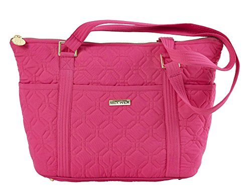 raspberry-rebel-microfiber-quilted-cotton-shopper-tote-handbag
