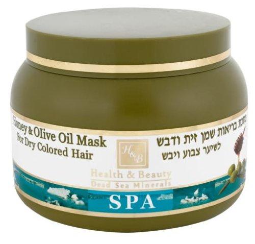 Health & Beauty Dead Sea Olive Oil & Honey Hair Mask from Health and Beauty Dead Sea