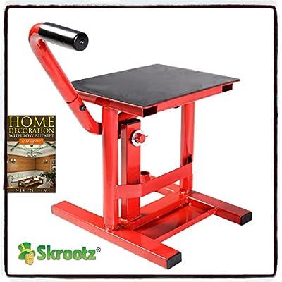 Adjustable Motorcycle Racing Offroad Motocross Dirt Bike Steel Lift Jack Stand by Skroutz