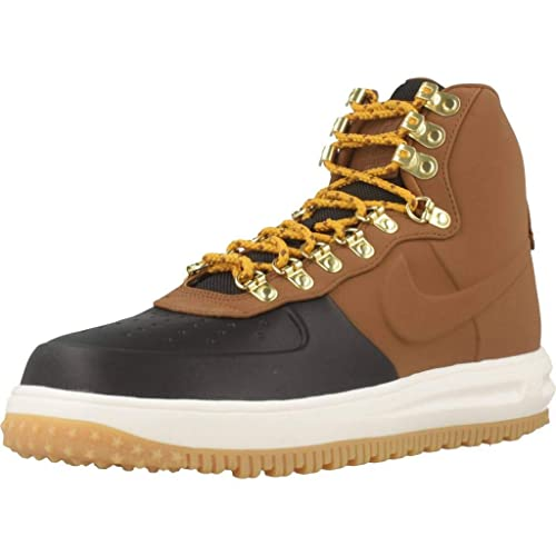 promo code 29ec5 7d4f1 Nike Lunar Force 1 Duckboot '18, Zapatillas de Baloncesto para Hombre,  (Black