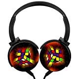 MagicQ Magic Cube Stereo Deep Bass Wired Headphones Earphones