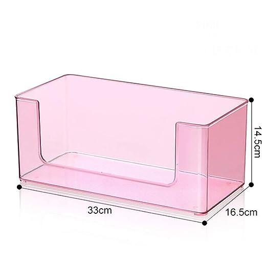 Plástico Transparente Caja de Almacenamiento Cosmética Máscara de ...