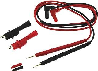 Kit de cable de prueba electr/ónico aguja perbes 10 A prueba cable de prueba pines de prueba bol/ígrafo para mult/ímetros digitales CTlite PT1002