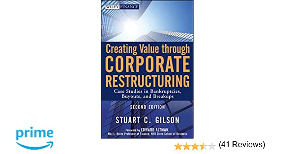 Creating value through corporate restructuring case studies in creating value through corporate restructuring case studies in bankruptcies buyouts and breakups 9780470503522 business development books amazon fandeluxe Images