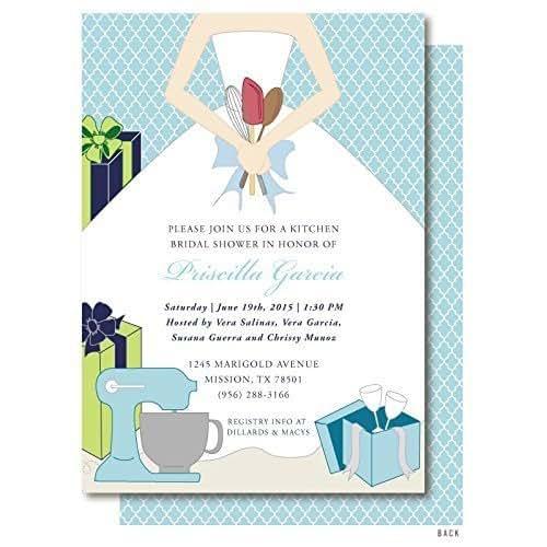 Amazon.com: Stock The Kitchen Bridal Shower Invitation