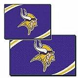 The Northwest Company Minnesota Vikings 2 Piece Rectangular Rug Set