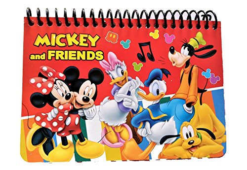 Autograph Mickey (Disney Authentic Licensed Spiral Autograph Book Memo Notepad (Mickey & Friends Red))
