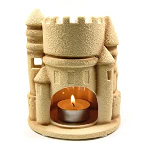 Sandcastle Aromatherapy Tealight Candle Holder Tart Burner / Warmer