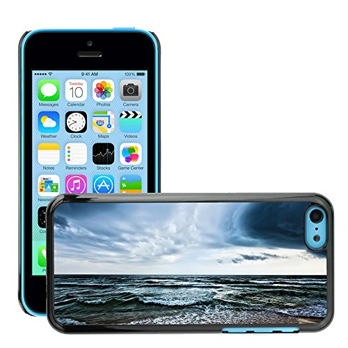Premio Sottile Slim Cassa Custodia Case Cover Shell // V00002622 Plage // Apple iPhone 5C