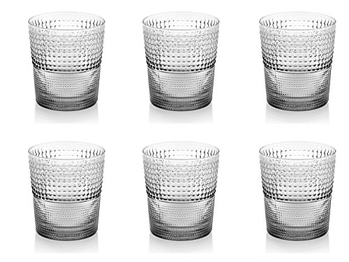 (IVV Glassware Speedy Glass Tumbler (Set of 6), 9-1/2 oz, Clear)