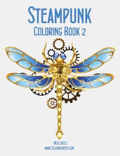 Steampunk Coloring Book 2 (Volume 2)