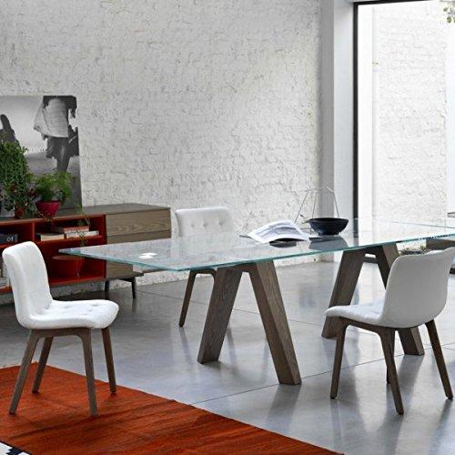 Tavolo allungabile Aron di Bontempi, Bianco: Amazon.it: Casa e cucina