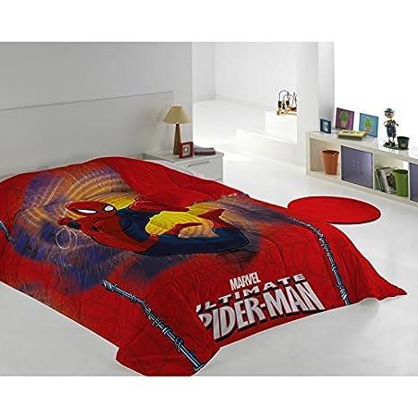 Edredon Nordico Rojo.Marvel Edredon Nordico Spiderman 180x240 Cms Color Rojo