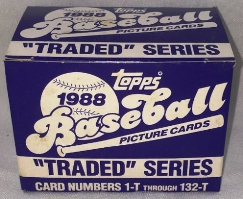 1988 Topps Toys (1988 TOPPS BASEBALL TRADED SET)