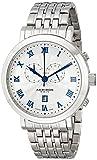 Akribos XXIV Men's AK590SS Swiss Chronograph Stainless Steel Bracelet Watch