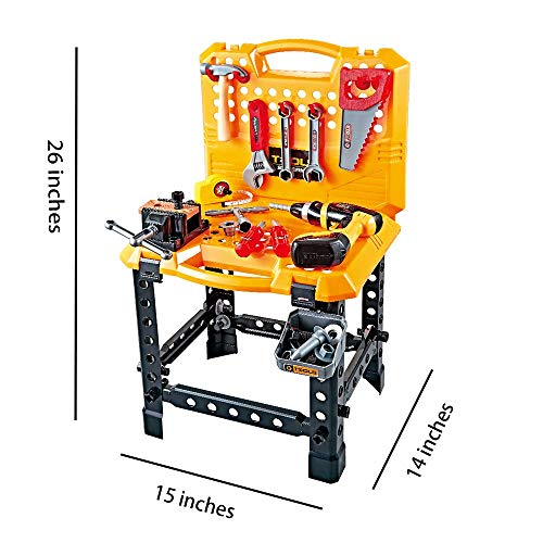 Young Choi's Construction Toy Power Workbench