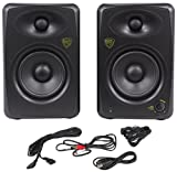 Rockville ASM5 5'' 2-Way 200W Active/Powered USB Studio Monitor Speakers Pair