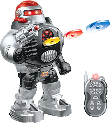 Click N' Play Remote Control Disc Firing Toy Robot