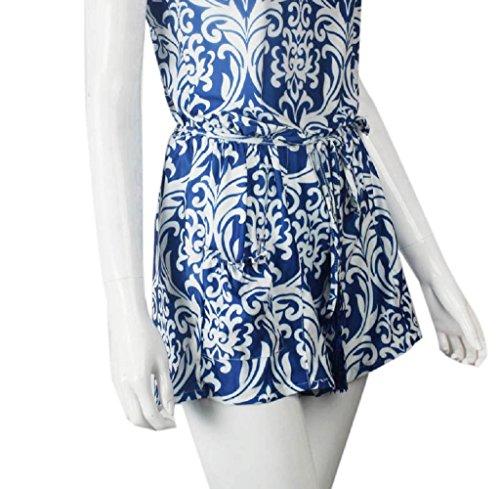 LMMVP - Bolso mochila  para mujer azul azul large azul