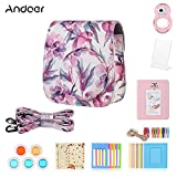 Andoer 8 in 1 Accessories Bundle for Fujifilm Instax Mini 9/8/8+/8s with Camera Case/Selfie Mirror/Filter/Album/Photo Frame/Sticker