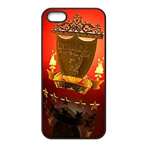 DIY Stylish Printing FC Liverpool Cover Custom Case For iPhone 5, 5S V6Q903145