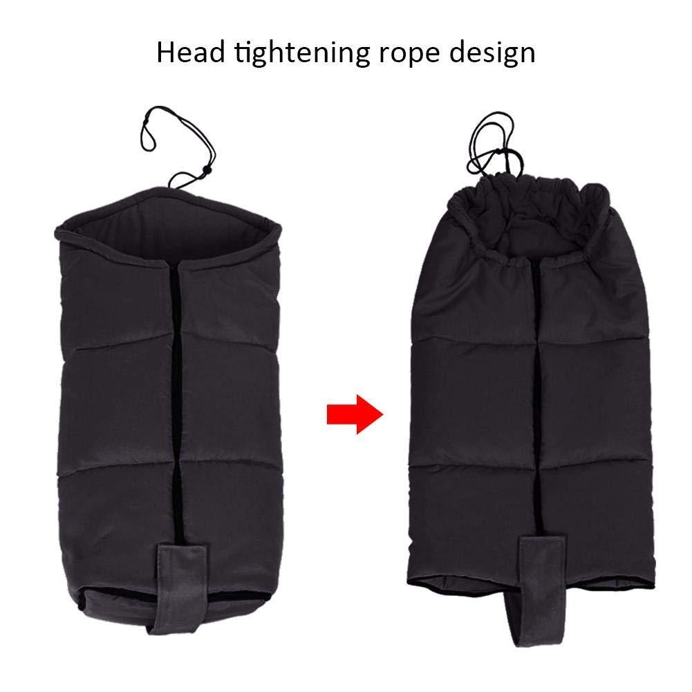 Universal Stroller footmuff, Stroller Bunting Bag, Outdoor Universal Infant Warm Stroller Footmuff Wearable Stroller Blanket, Wind Resistant Stroller Sleeping Bag (Luxury Grey)