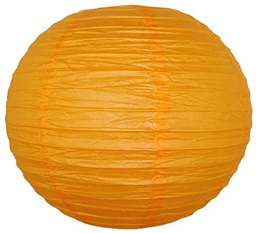 Just-Artifacts-16-Orange-ChineseJapanese-Paper-LanternLamp-16-Diameter-Just-Artifacts-Brand