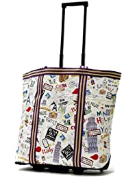 Luggage Cosmopolitan Rolling Shopper Tote, City, One Size