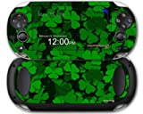 St Patricks Clover Confetti - Decal Style Skin fits Sony PS Vita