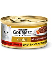 Purina Gourmet Gold Kattenvoer Delicatesse In Saus, 12 Blikjes (12 X 85 G)