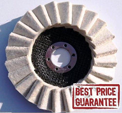 Disco de pulido hecho de fieltro para pulir metales inoxidables ...