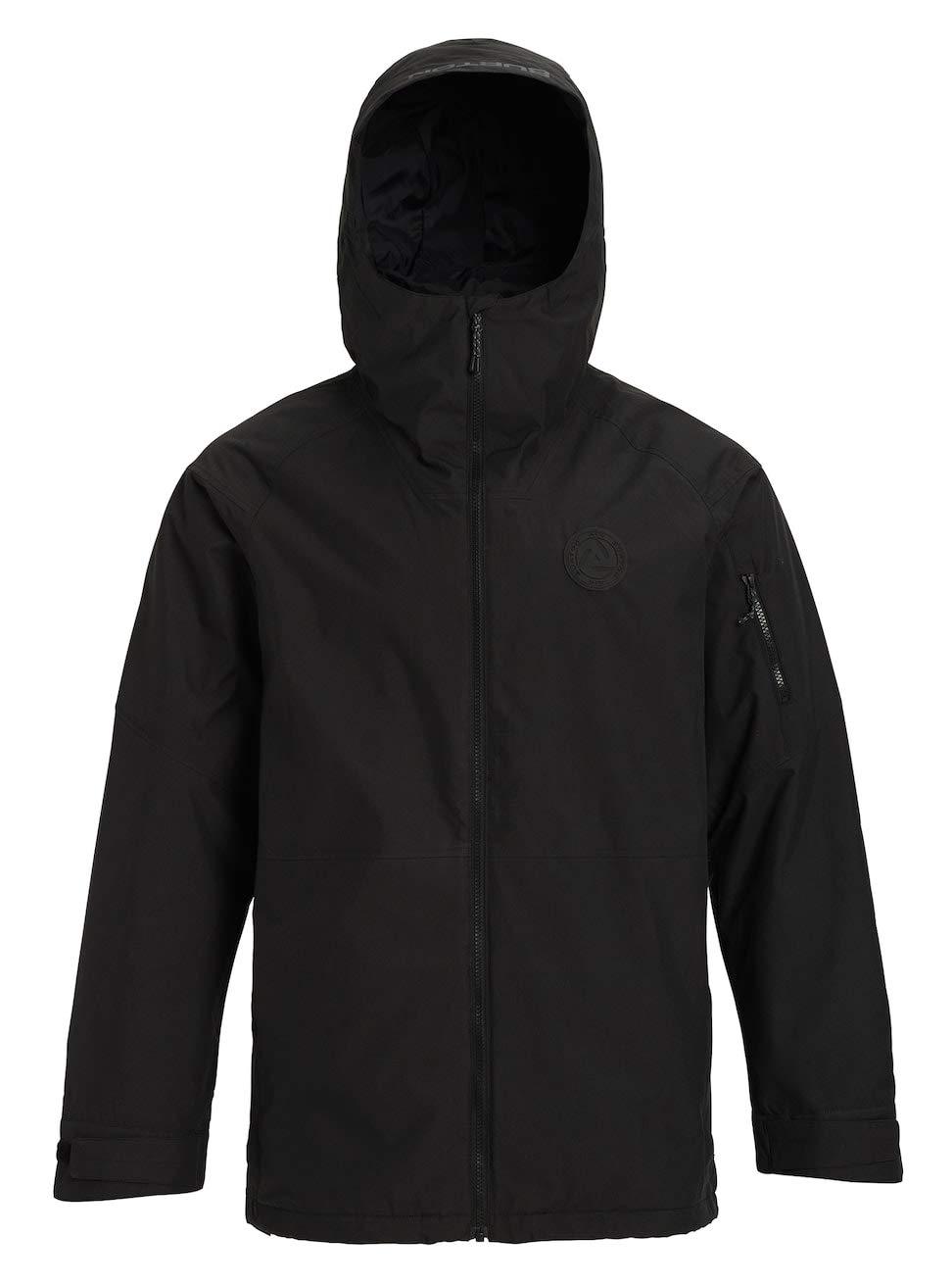 True schwarz XXL Burton Herren Hilltop Snowboard Jacke