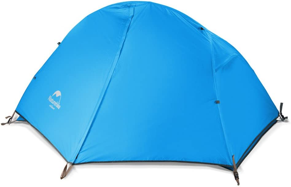 Naturehike Backpacking Tent for 1 and 2 Person Camping Hiking Lightweight Waterproof one Person Tent with Footprint