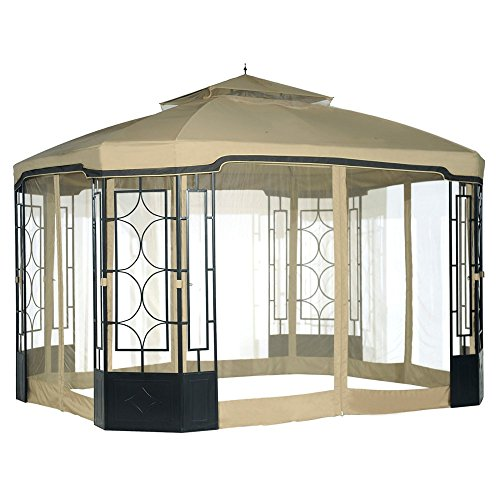 Sunjoy Replacement Mosquito Netting for Alcove Gazebo -  110109016