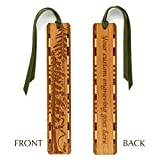 Best Mitercraft Hikes In Usas - Personalized Evergreen Hiker Engraved Wood Bookmark With Tassel Review