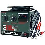 Schumacher PSC-2030T DSR ProSeries 10/30/200 Amp 6/12 Volt Manual Bench Top Battery Charger/Starter