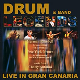 Drum legends band live in gran canaria - Living in gran canaria ...