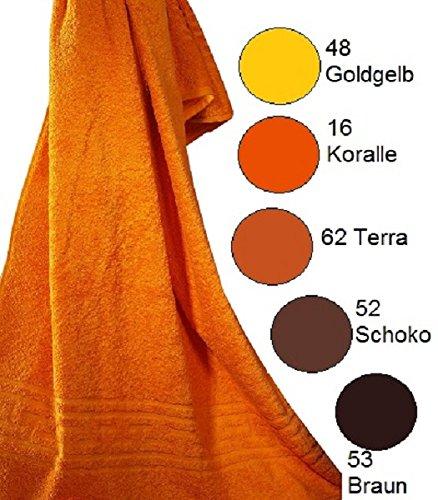 Ross de toallas de toalla Bel Forma de O de tamaño 100 x 150 cm, 53 Braun, 100 x 150: Amazon.es: Hogar