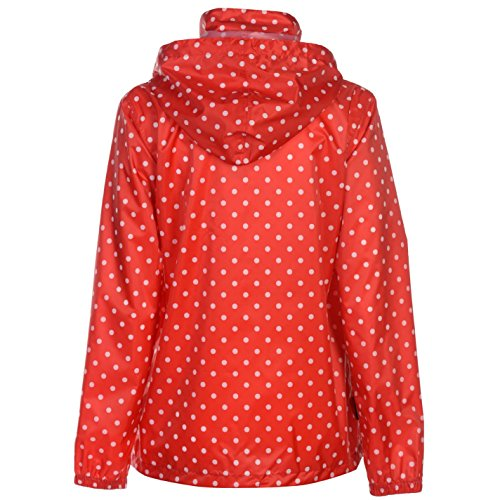 Dot Donna Giacca Packaway Polka Rosso Gelert A4q74