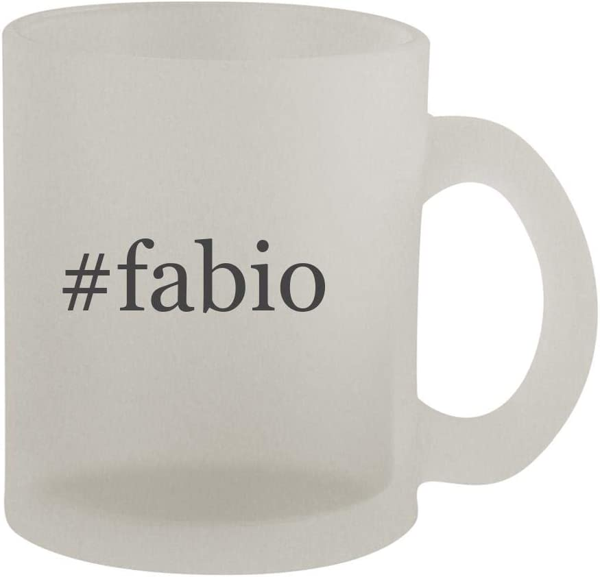 #fabio - 10oz Hashtag Frosted Coffee Mug Cup, Frosted